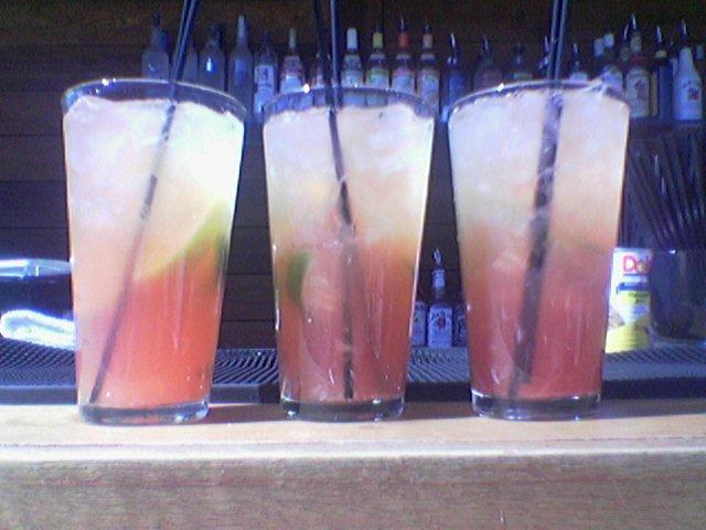 bartenders margaritas